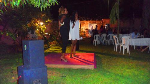 Andréa Bomo et Manuela Ebe Evina. Les fondatrice d' Akouma Tv.